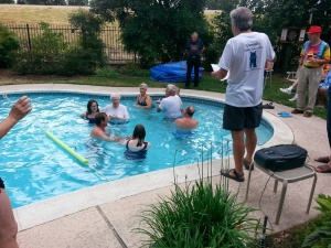 Square Dancing in the Pool!